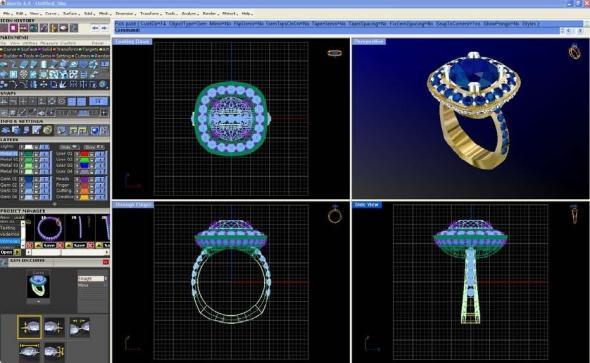 CAD CAM Design Premier Jewelry Casting